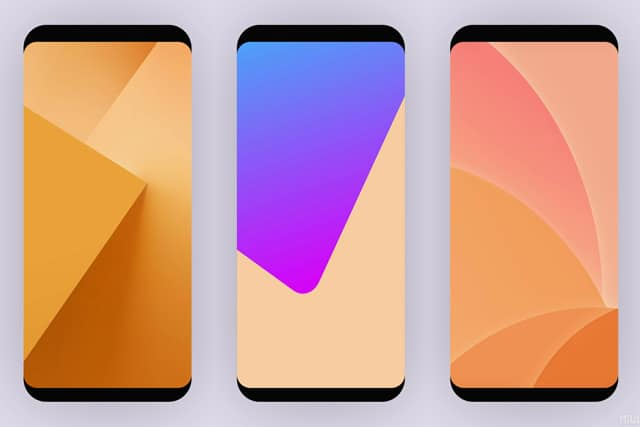 MIUI 10 wallpapers downloads