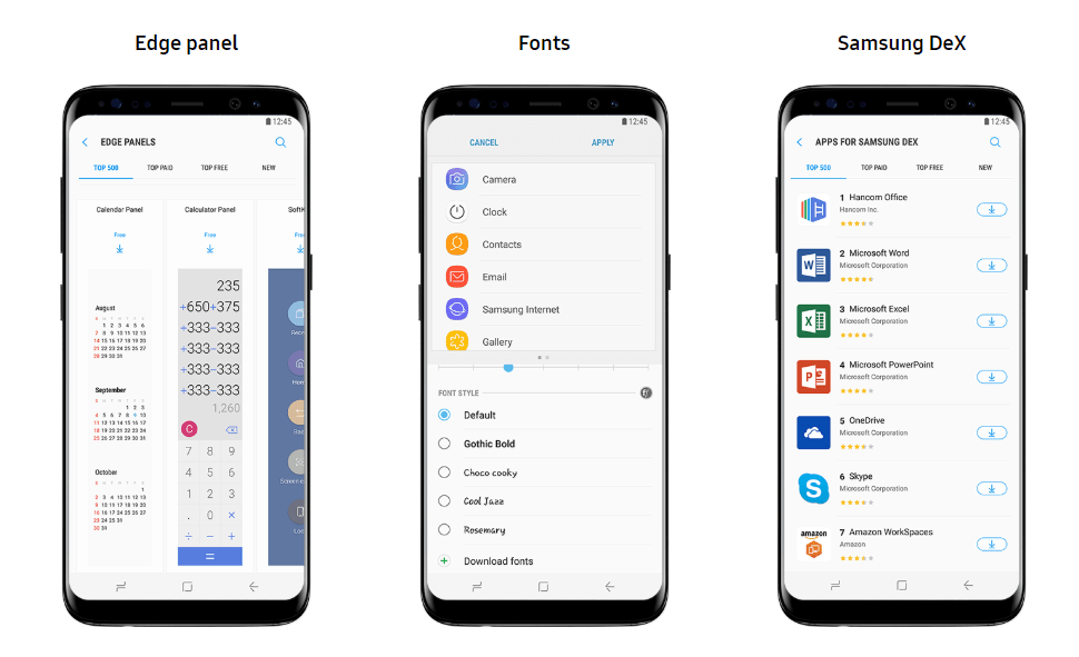 Download and Install Fonts for Samsung Galaxy Phones for OneUI