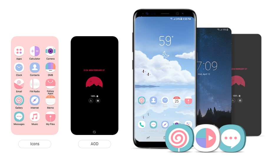 Best Samsung Icon Packs for 2018 [Download Free Collection]