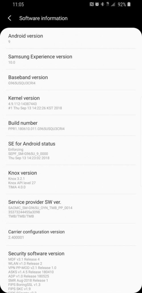 Download Samsung Experience 10 based on Android 9 0 Pie for