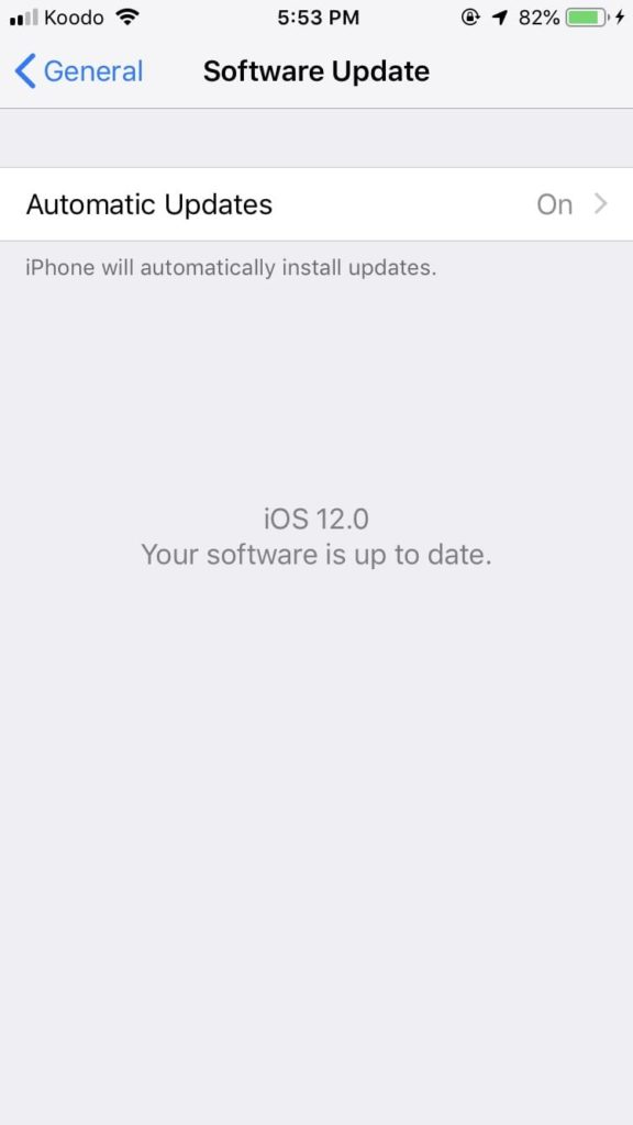 How to Update your iPhone to iOS 12 official update