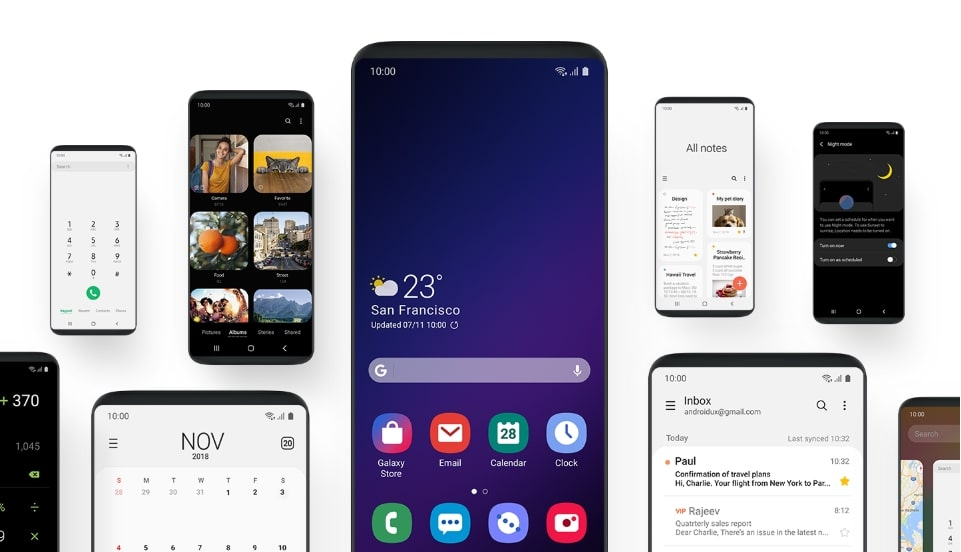 Sign up for Samsung Galaxy S8, S8+, and Note 8's One UI Beta