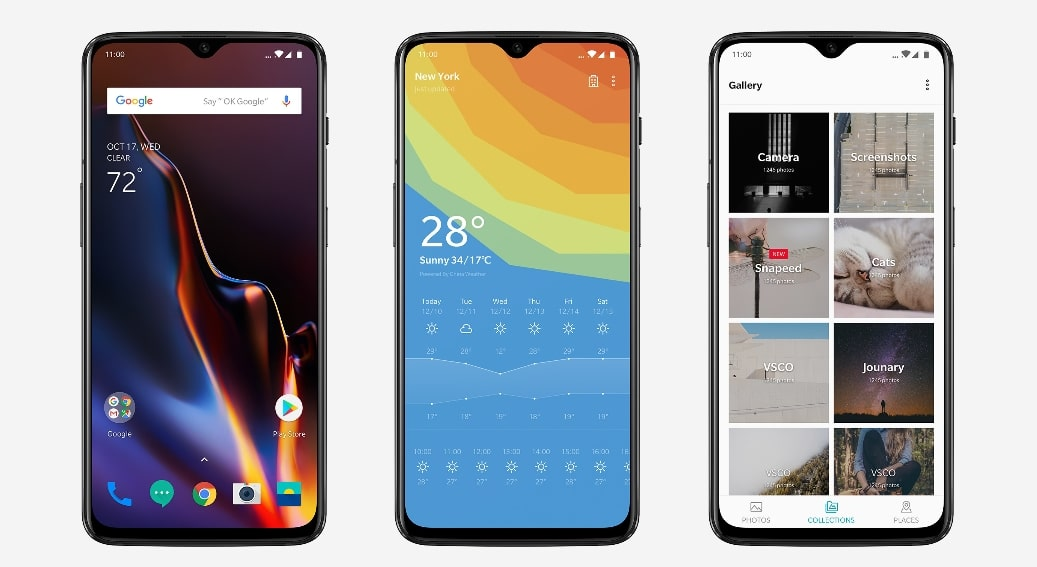 Download Open Beta 17 for OnePlus 6 and Beta 9 for OnePlus