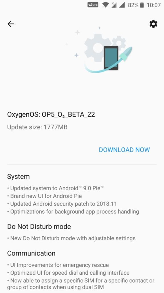 Downloading OnePlus 5 Open Beta 22 and OnePlus 5T Open Beta 20 OT