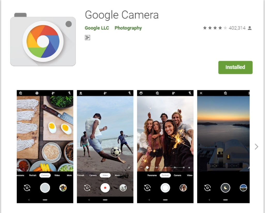 Google Camera 6 2 Mod port for Google Pixel 1, 2, and 3 with