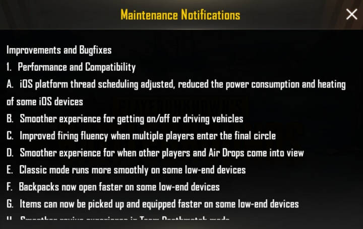 Screenshot PUBG MOBILE 0.14 update (5)