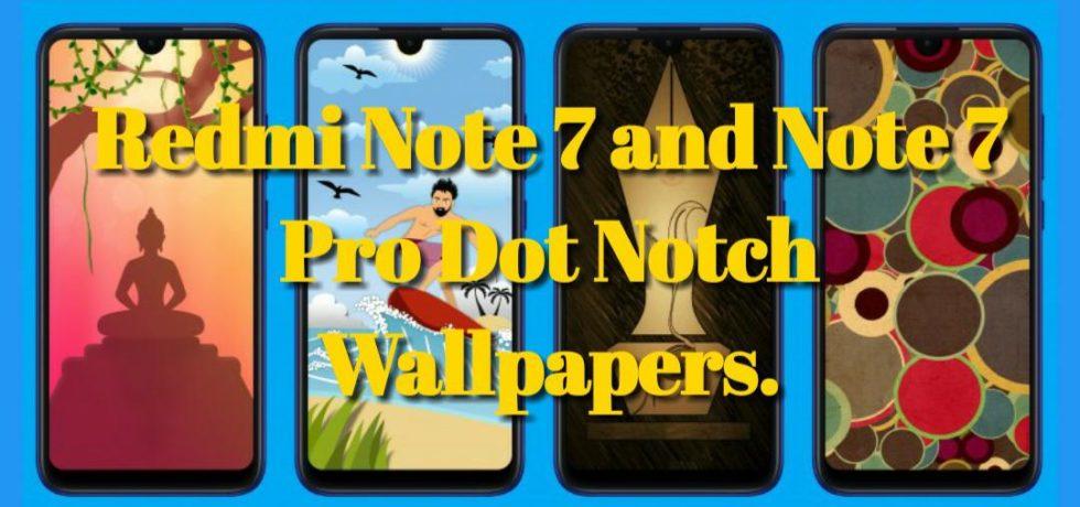 Redmi Note 7 Dot Notch Wallpapers