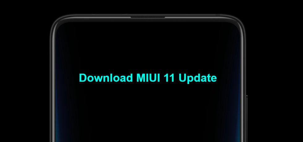 Download MIUI 11