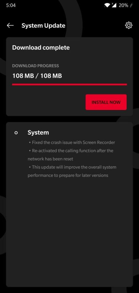 OnePlus 6 and 6T pre Android 10 OTA update Oxygen OS 9.0.9 and 9.0.17