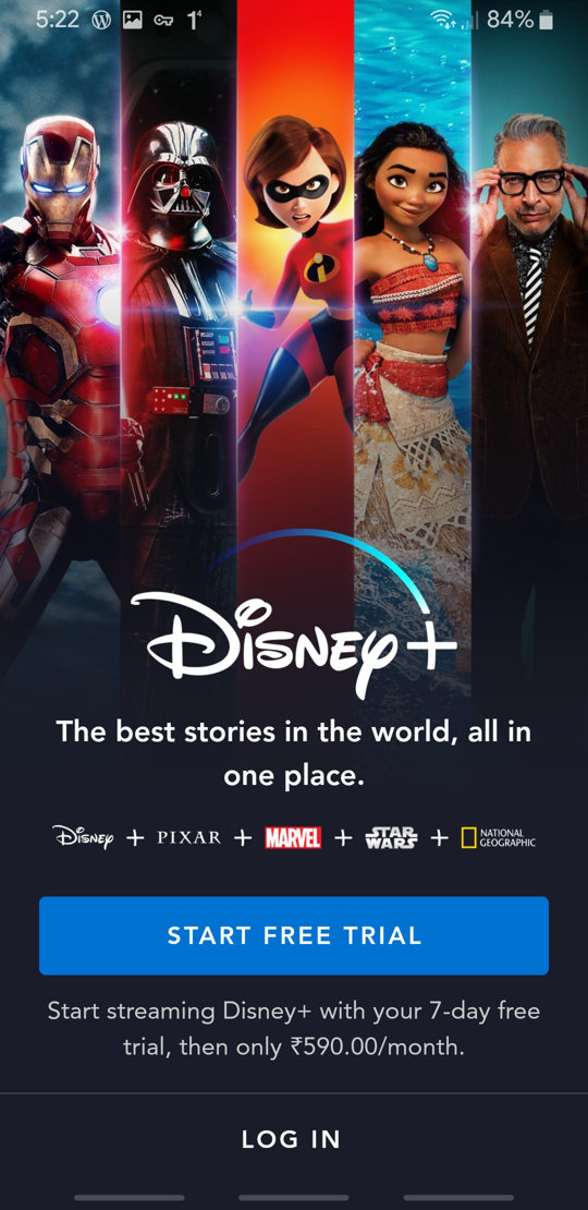 Disney+ APK Screenshot