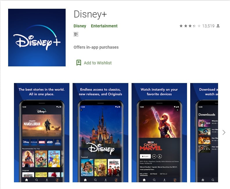 Disney+ Apps on Google Play Android TV, Android Box, Andorid phones APK download-min