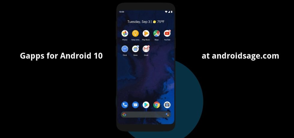 Android 10 Open Gapps - Google Apps-min