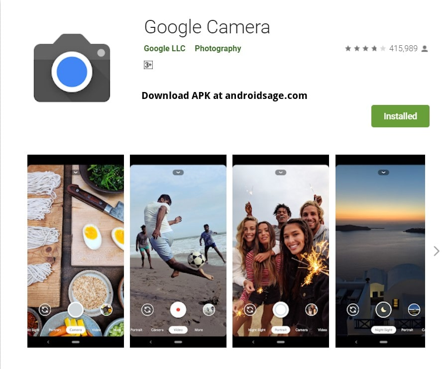 Download latest stable Google Camera 7.3 APK for all Android devices-min