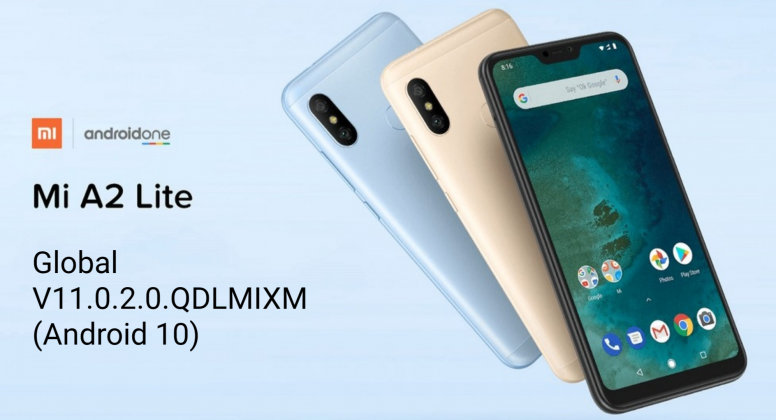Download Android 10 for Xiaomi Mi A2 Lite Global Stable ROM