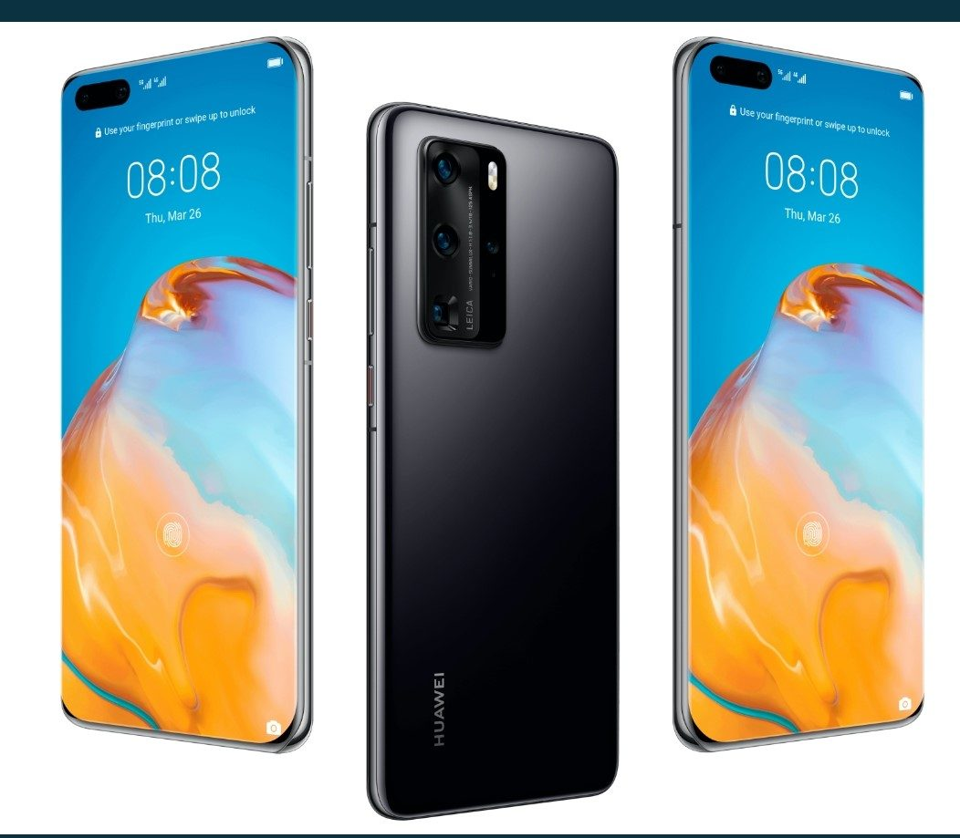 Leaked image of Huawei P40 and P40 Pro