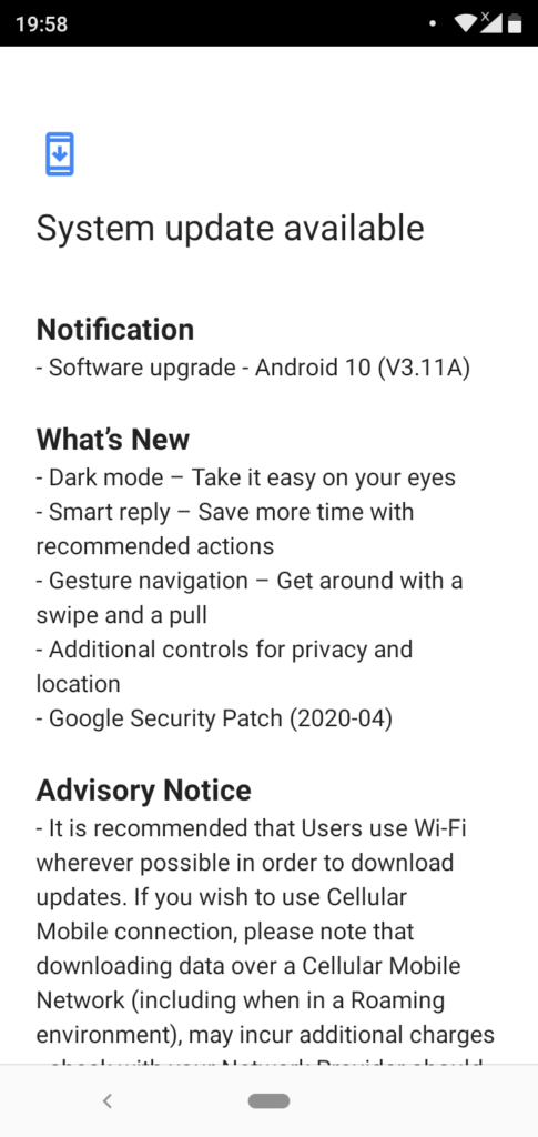 Android 10 for Nokia 5.1