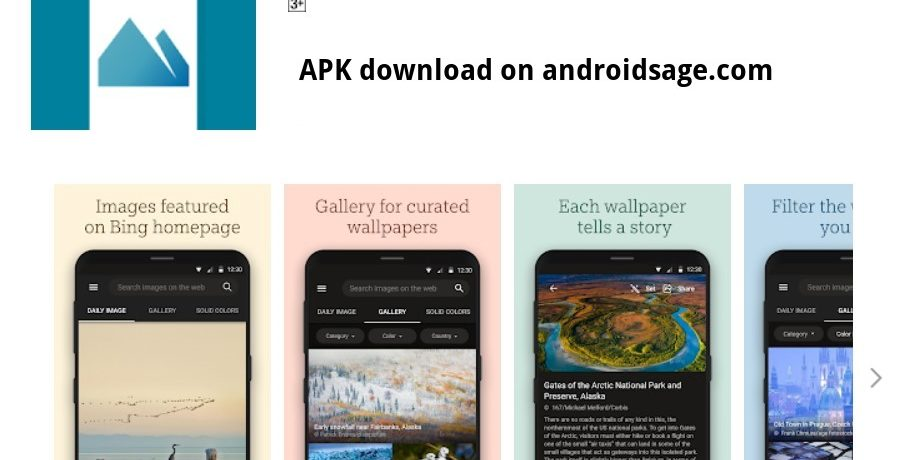 Bing Wallpapers Apps on Google Play APK download