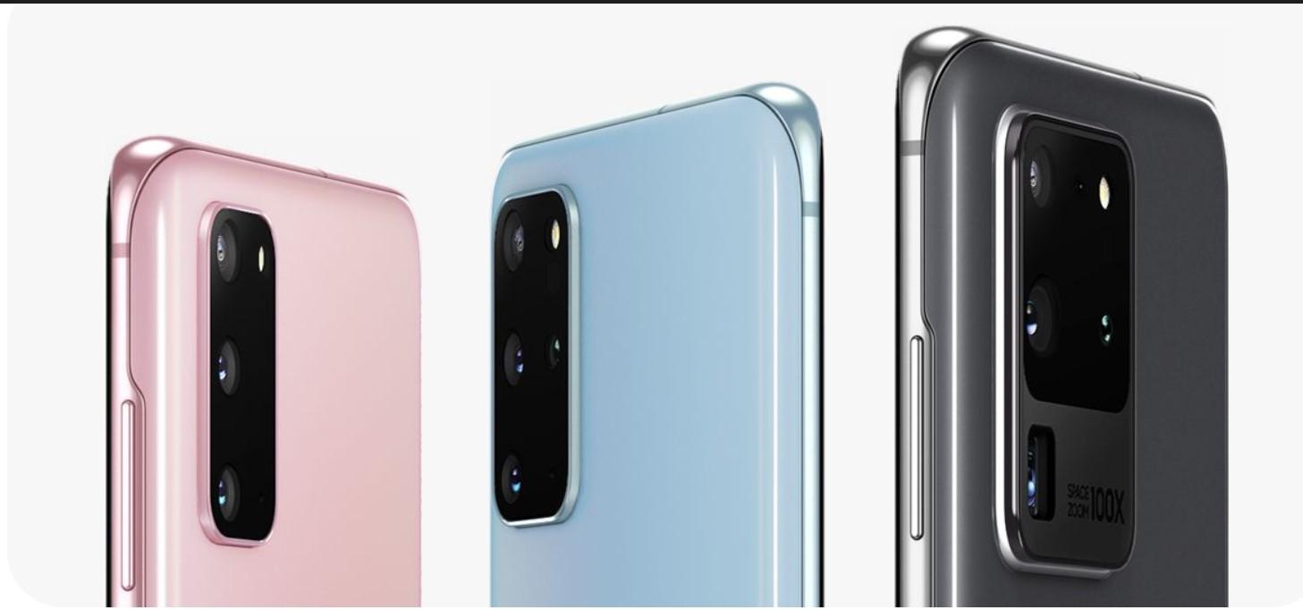 Latest Samsung Galaxy S20 series update download