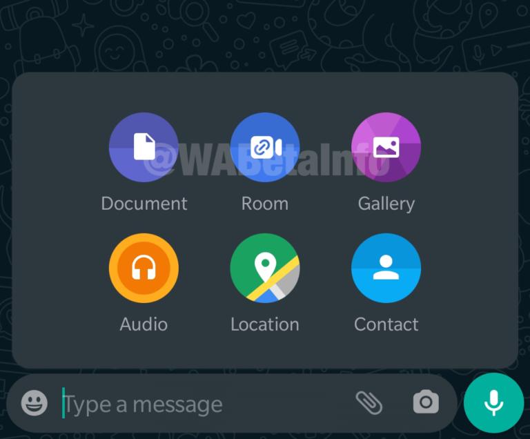 Messenger rooms in whatsapp apk download